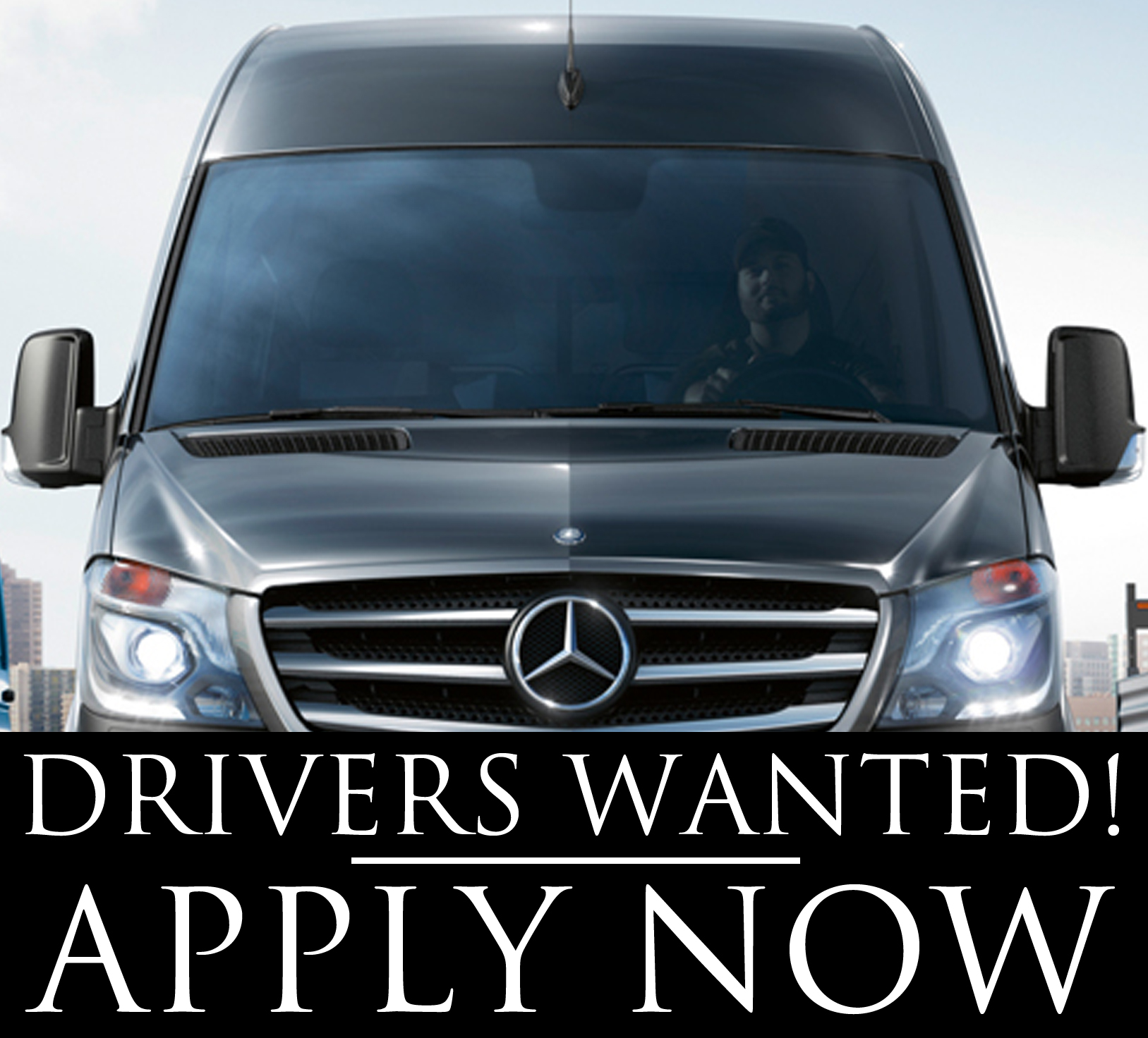 DRIVERS WANTED drive away
